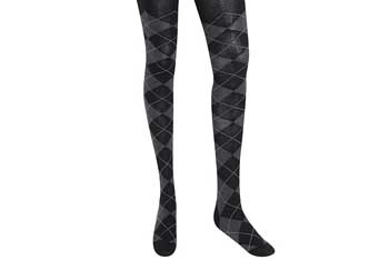 Checkered knit tights, $6.80, Forever21.com