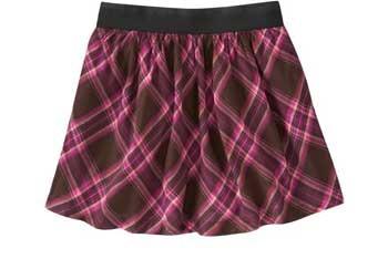 Elastic waist poplin skirt, $7.99, OldNavy.com