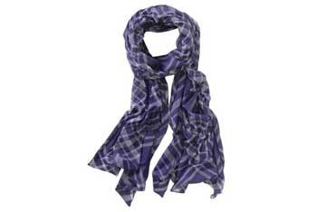 Plaid burnout jersey scarf, $7.99, Aeropostale.com