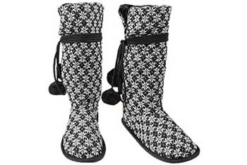 Sweater boots, $34.50, Delias.com