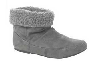 Fluff cuff boot, $28, NewLook.com