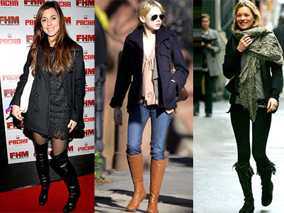 Celebs love knee high boots!