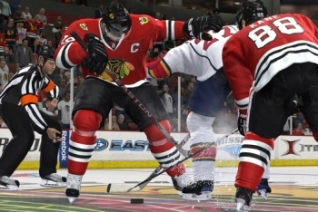 Blackhawks face off
