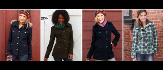 Feature coat feature