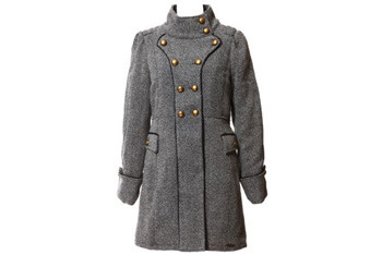 Military twill coat, $140, Bootlegger.com
