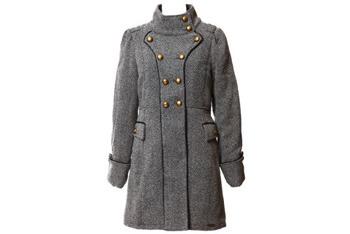 Military twill coat, $140, Bootlegger.com