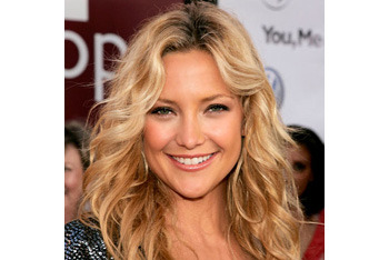 Kate Hudson's tousled waves