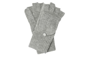 Button flip top gloves, NewLook.com, $10