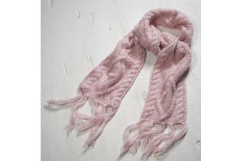 Cable knit scarf, AmericanEagle.com, $29.50