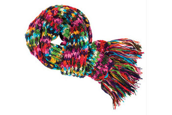 Monique multi scarf, Delias.com, $24.50