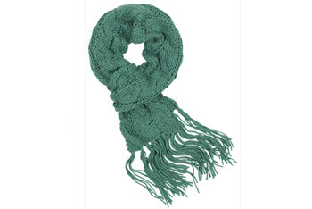 Cassady solid scarf, Delias.com, $24.50