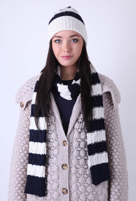 Cozy hat and scarf set!