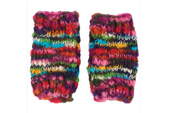 Monique multi mittens, Delias.com, $12.50