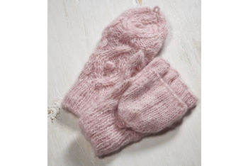 Cable knit convertible gloves, AmericanEagle.com, $19.50