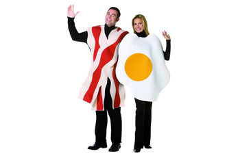 Egg and Bacon costume, $45, Fancydress.com