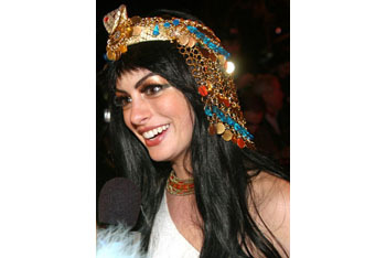 Anne Hathaway as Cleopatra