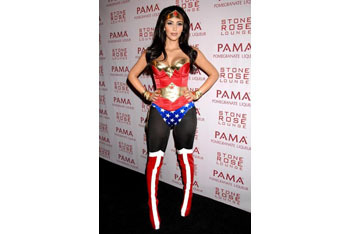 Kim Kardashian as Superwoman