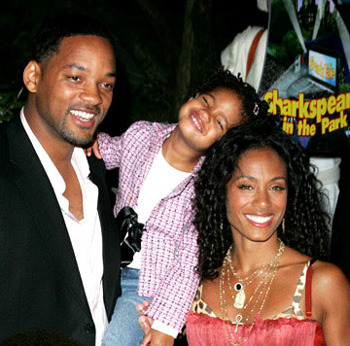 The Smith Family: Will, Willow and Jada