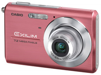 Pink Casio Digital Camera