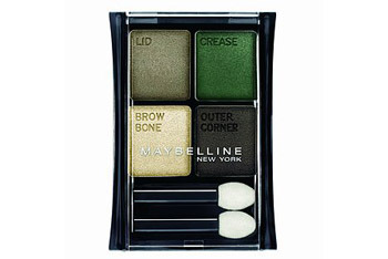 Maybelline Stylish Smokes Eyeshadow Quad in Emerald Smokes, $5.49, Drugstore.com