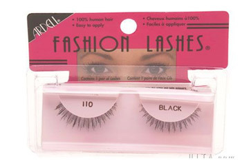Ardell Fashion Lashes in 110 Black, $2.99, Drugstore.com