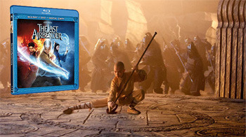 The Last Airbender Blu-Ray/DVD