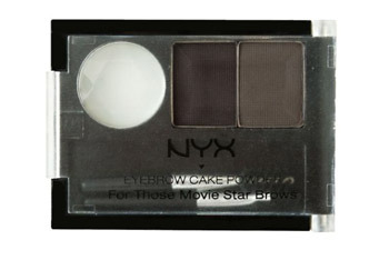NYX Eyebrow Cake Powder in Black/Gray, $4.99, Ulta.com