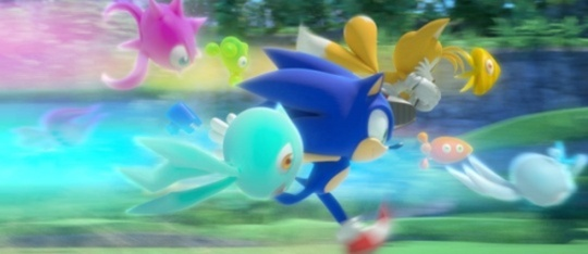 Feature feature sonic colors
