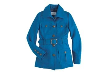 Kendall belted coat, $69.50, Delias.com