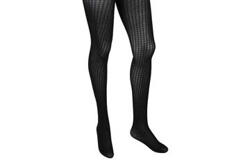 Houndstooth mesh tights, $5.80, Forever21