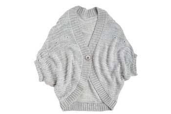Natasha Cocoon cardigan in grey, $34.50, Delias.com
