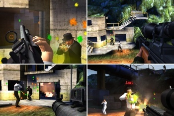 Goldeneye 007 multiplayer paintball mode