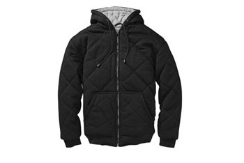 Quilted thermal-lined jacket, $14, WalMart