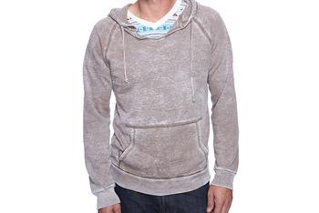 Burnout drawstring hoodie, $26.90, Forever 21