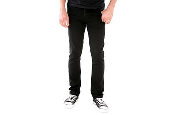 Social Collision black indie fit jeans, $29, Hot Topic