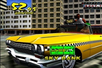Crazy Taxi getting paid