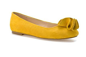 Kelsi dagger inna flats in yellow, $69.95, at DSW.com