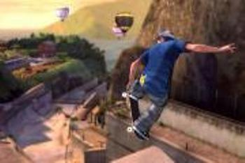 Tony Hawk shred mad air
