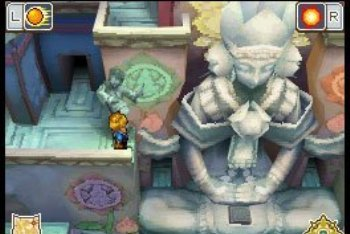 Golden Sun: Dark Dawn big statue