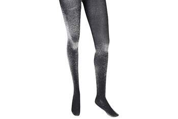 Metallic glitter tights, $7.80, Forever21.com