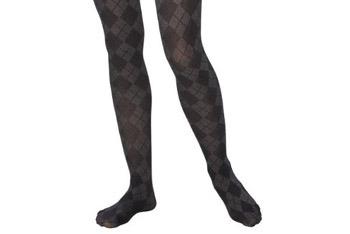Merona Argyle tights, $7, Target.com