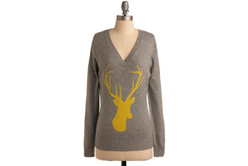Oh, Deer sweater, $89.99, at ModCloth.com