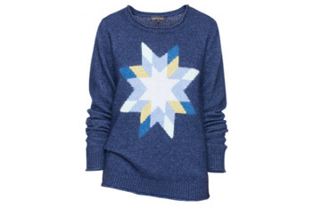 Talula lonestar fuzzy angora sweater, $88, at Aritzia.com