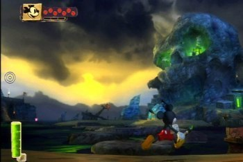 Epic Mickey screenshot skull island