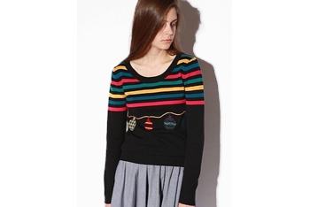 Cooperative ornaments sweater, $49, at Urban Outfitters