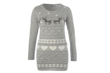 Fairisle jumper dress, $30, at NewLook.com