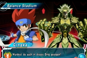 Beyblade Metal Fusion: Battle Fortress screenshot battle intro