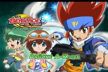 Beyblade Metal Fusion: Battle Fortress screenshot characters