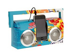 Recycled Boombox, $18, at Urban Outfitters