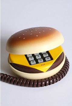 Hamburger Phone, $28, at Urban Outfitters